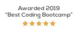 Awarded in 2019 for best coding bootcamp